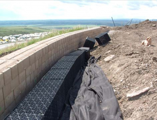 Retaining Wall, Alberta